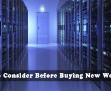 Buying Web Hosting