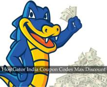 HostGator India Discount Code