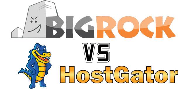 BigRock vs HostGator