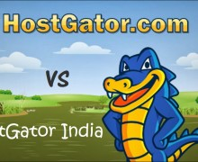 Hostgator VS Hostgator India