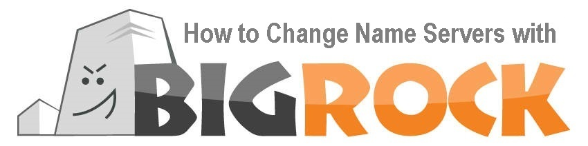 How to Change Name Servers with BigRock