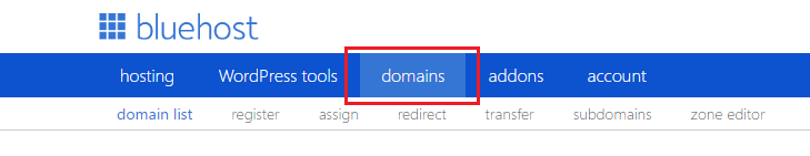 bluehost_domain