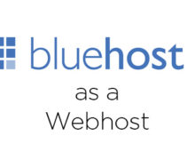 Bluehost as a Web Host