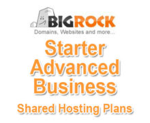 Bigrock Shared Hosting Plans