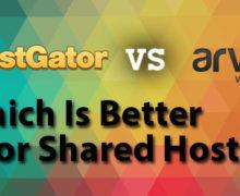 HostGator Versus Arvixe